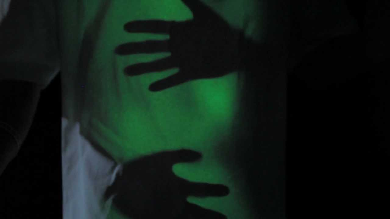 Design t shirt glow in the dark - Glow Threads Shirt Interactive Glow Shirt