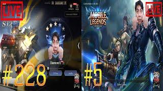 [🔴LIVE ] ลุย RANKING ไอดีรอง&ไอดีหลัก + Mobile Legends (จบสตรีม 6 โมงครึ่ง)