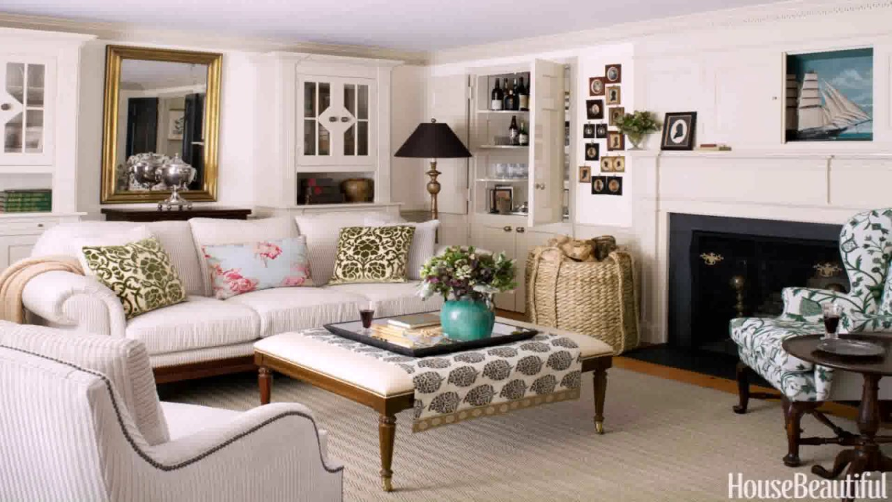 Superior Cape Cod House Interior Design Ideas Part - 3: 1930s Style House Interiors - YouTube