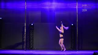 Izabela Krajanowska-Pieniążek - II place Pro - Pole Dance Show 2019