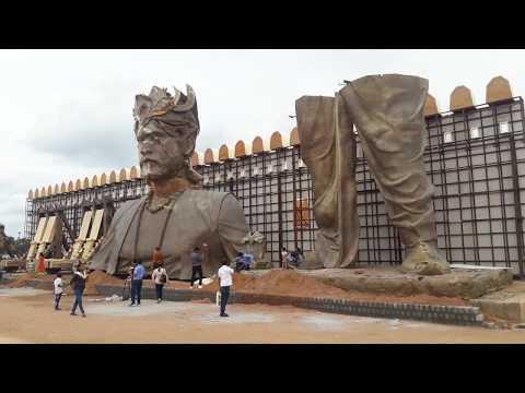 जानिए, आज भी कहाँ और क्यों खड़ा है बाहुबली का सेट, देखिए Original Bahubali Set   Dalit Dastak