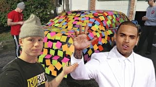 CHRIS BROWN HATING ON MY PRANK!?