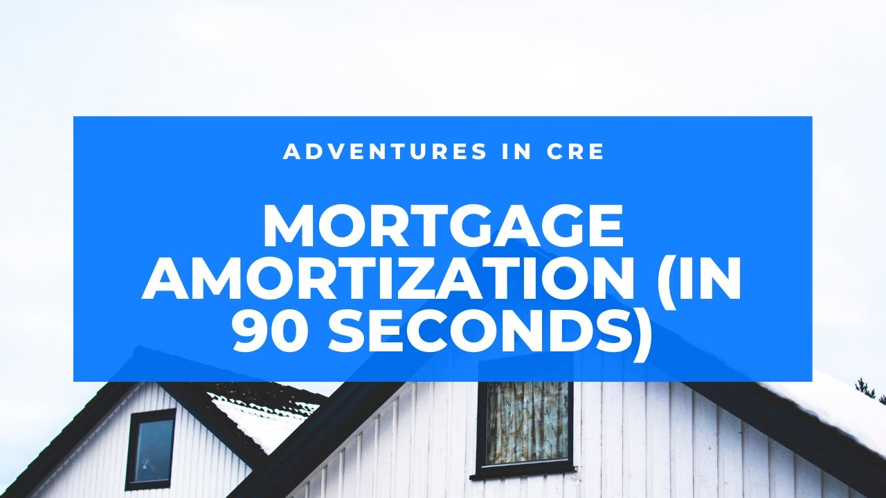 watch me build a mortgage amortization table in excel in under 90