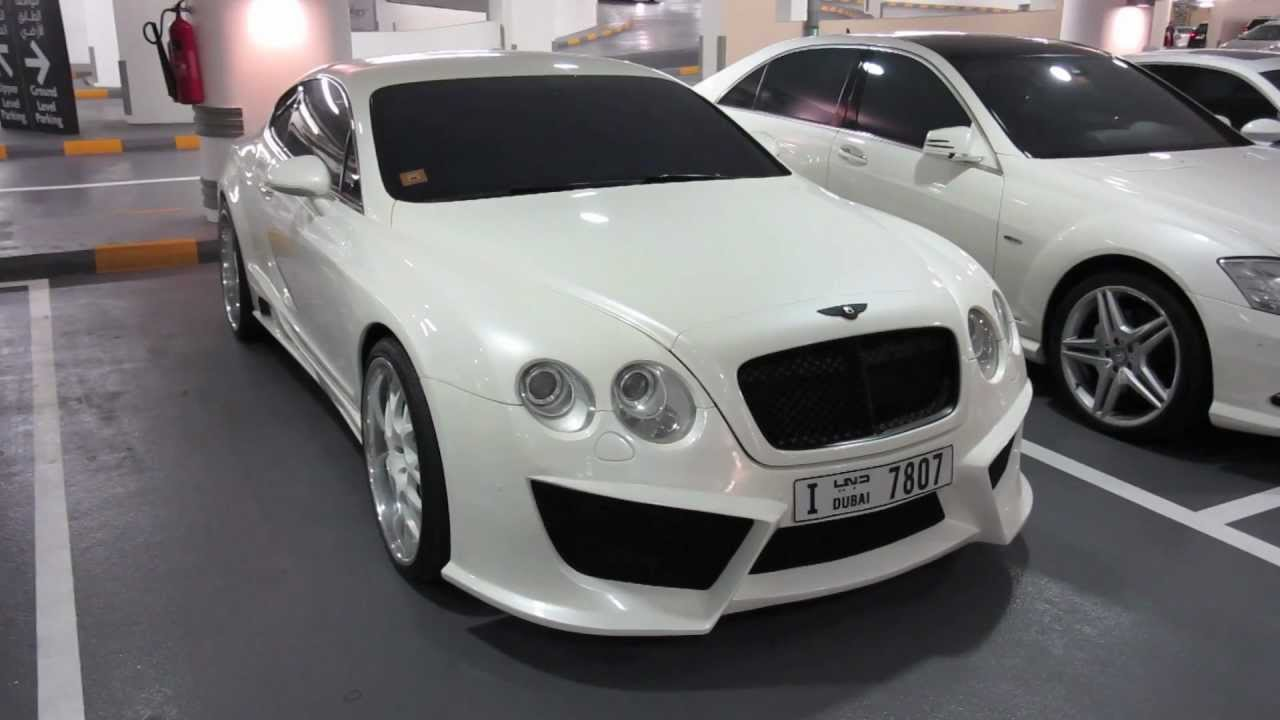 Bentley Continental Gt With Custom Rims And Body Kit Youtube
