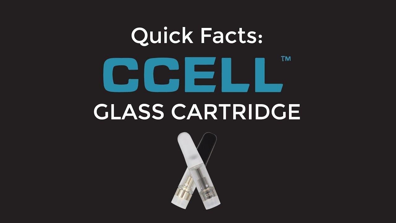 Quick Facts: CCELL Glass Cartridge