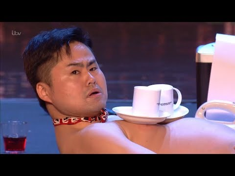 Britain's Got Talent 2018 Mr Uekusa Indescribable Variety Act Full Audition S12E01