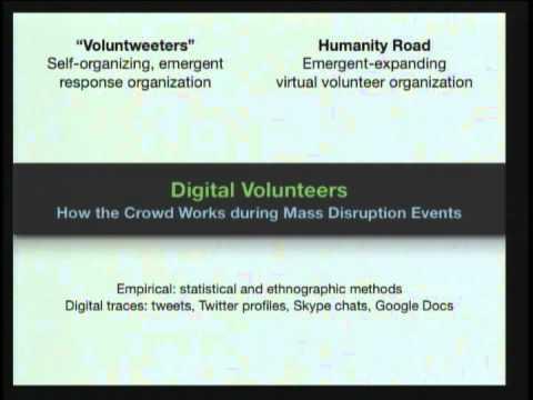 Crowd Computation: Social Computing and Mass Disruption