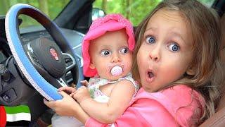 وأغاني أخرى - نحن في السيارة - أغنية للأطفال   Kids Songs by Maya and Mary