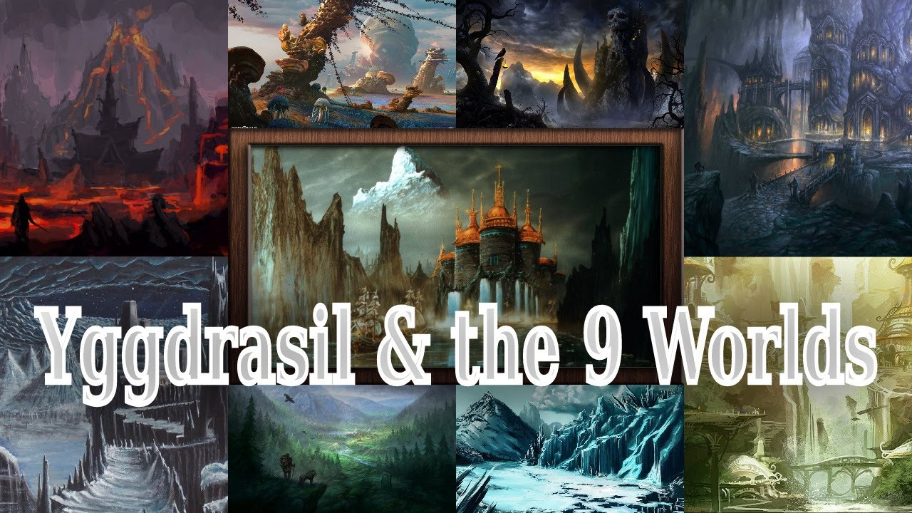 Download Yggdrasil & The 9 Worlds   Norse Mythology Ep.4
