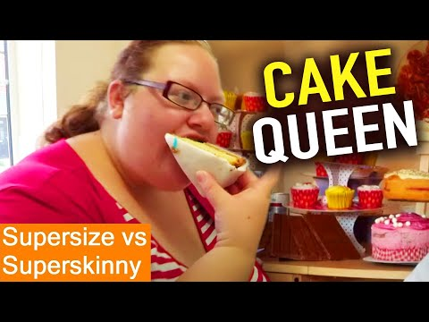 Cake OBSESSED | Supersize Vs Superskinny | S07E06 | How To Lose Weight | Full Episodes