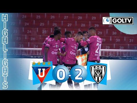 Liga de Quito 0 - 2 Independiente del Valle | GOLES | Liga Pro Ecuador