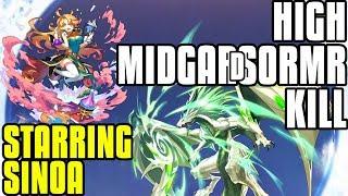 High Midgardsormr Kill With Sinoa! My First Kill FINALLY!