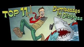 Top 11 Dumbasses In Distress - Nostalgia Critic