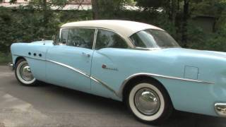 Driving my 1954 Buick