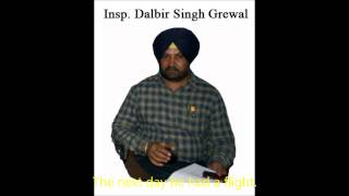 Insp Dalbir Grewal part of SSP Mann Team, Punjab Police