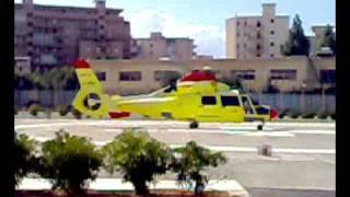 Repeat youtube video elisoccorso palermo eurocopter aerospaziale as 365 n3 dauphin I-lobe elilario