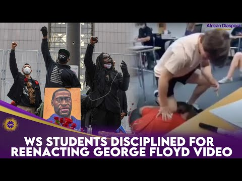 WS Students Disciplined For Reenacting George Floyd Video