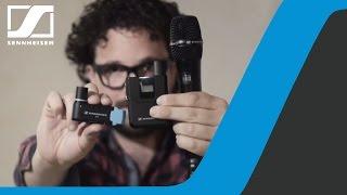 Tutorial: AVX Video Sound Recording Ep.1 - Setup | Sennheiser