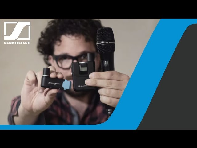 Tutorial: AVX Video Sound Recording Ep.1 - Setup | Sennheiser