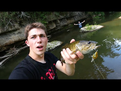 Look What We Found in The Creek! -- ft. LunkersTV