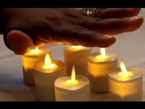 The FLAMELESS VOTIVE CANDLES by NONNON ZGF