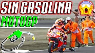 MotoGP Motegi Japon 2019 MARQUEZ SE QUEDA SIN GASOLINA