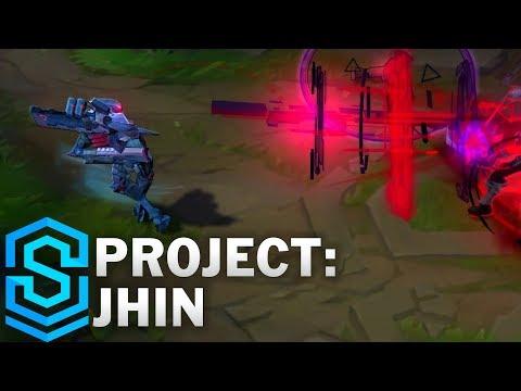 PROJECT: Jhin Skin Spotlight - League of Legends