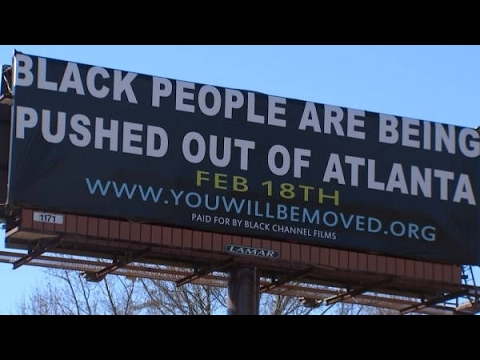 Are Black People being pushed out of Atlanta?