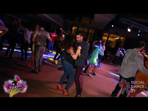 Panagiotis Aglamisis & Jessica - Salsa social dancing   Beirut Salsa Loca 2018