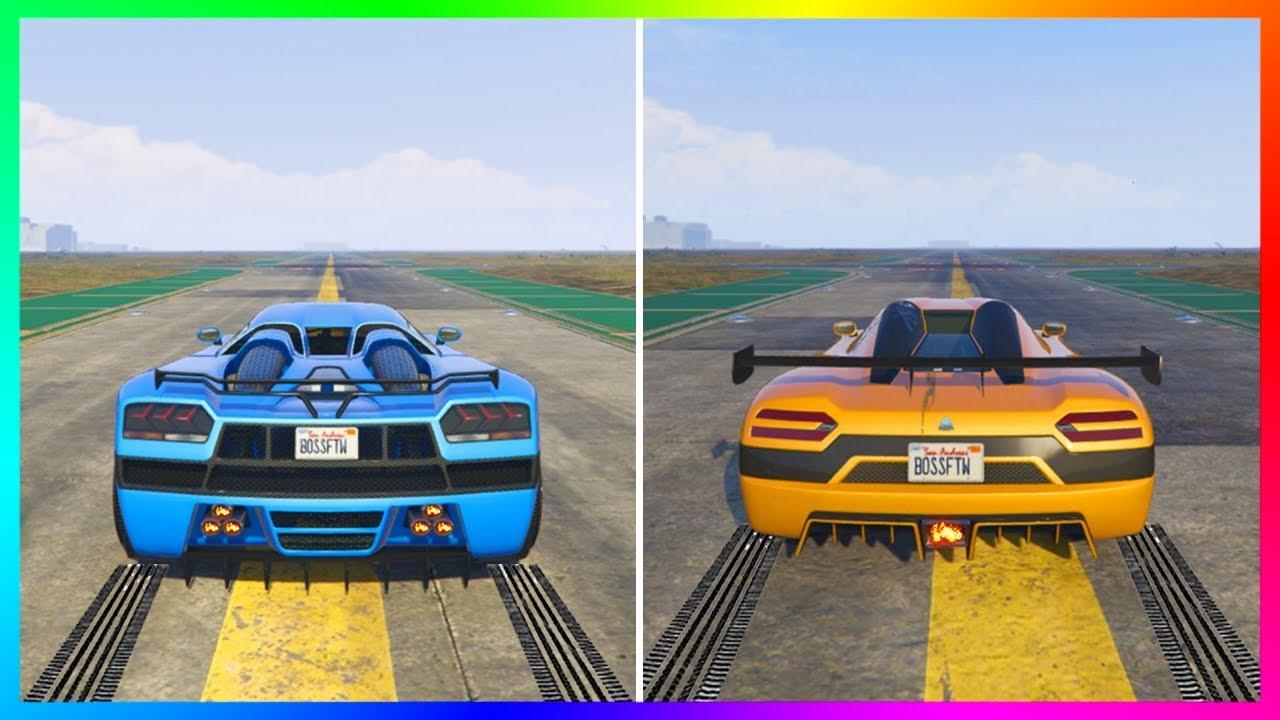 NEW Fastest Super Car In GTA Online?