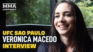 Veronica Macedo Says She's Still Fighting at UFC Busan Five Weeks After UFC Sao Paulo - MMA Fighting