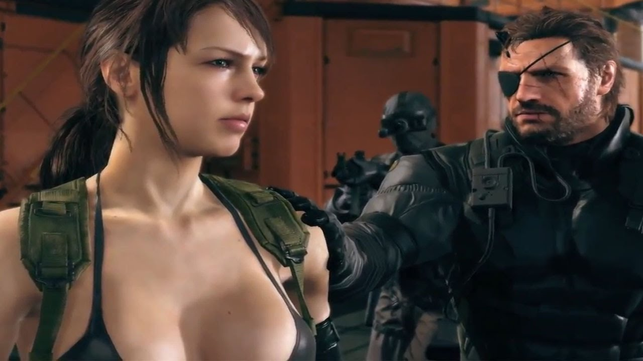 Quiet Girl Wallpaper Hd Metal Gear Solid V The Phantom Pain Walkthrough Tgs 2014