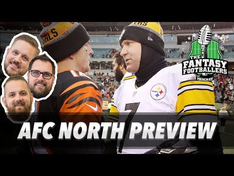 Fantasy Football 2017 - Post Hype Sleepers, AFC North Breakdown - Ep. #398