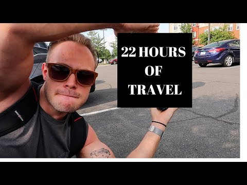 22 HOURS OF TRAVEL PART 1 | RUSSIA WORLD CUP VLOGS