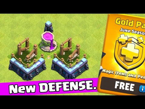 TH13 New Defense....And Gold Pass Giveaway..Clash Of Clans !