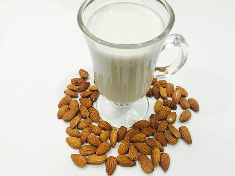 How to make Almond Milk at home with only 2 ingredients