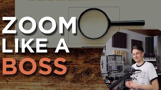 ZOOM LIKE A BOSS - The Ultimate Guide to Zooming in Studio One