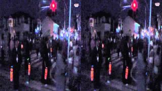 岡崎三大まつり、神明宮大祭宮入り出発(3D_HD)
