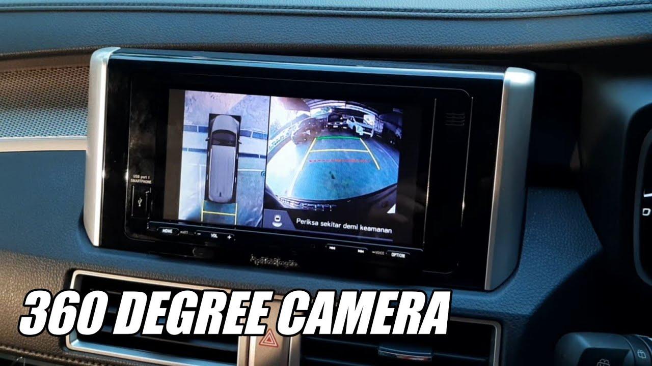 XPANDER CROSS DENGAN KAMERA 360° | 360 Degree Surround View Cameras