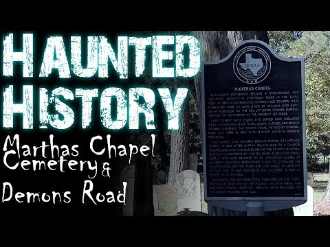 HAUNTED HISTORY: MARTHA'S CHAPEL CEMETERY & DEMONS ROAD (feat. The Haunted Broadcast) from YouTube · Duration:  9 minutes 43 seconds