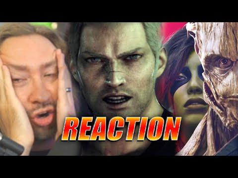 MAX REACTS: Square Enix – E3 2021 Showcase (Final Fantasy Origin – Babylon's Fall – Guardians)