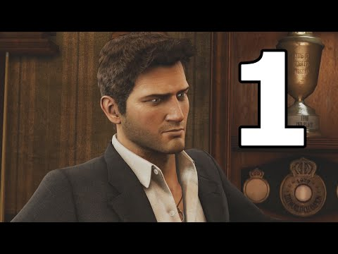 Uncharted 3: Drake's Deception Remastered Walkthrough Part 1 - No Commentary Playthrough (PS4)