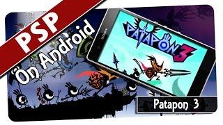 Patapon 3 (PPSSPP v0.9.9.1) PSP Emulator on Android