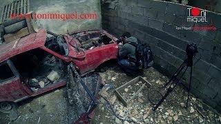 making of taller abandonado de coches antiguos mallorca