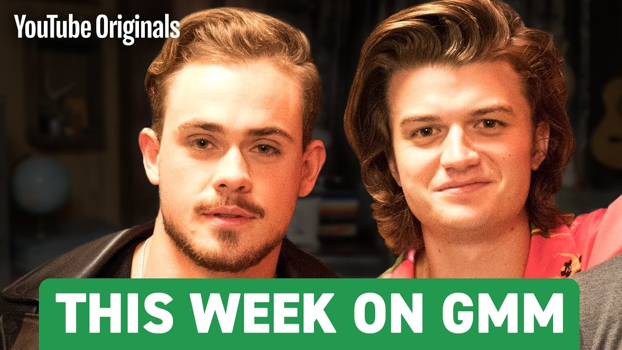 Stranger Things' Joe Keery & Dacre Montgomery | This Week on GMM