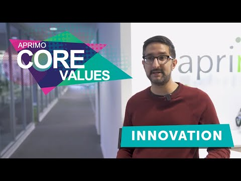 Aprimo's Core Values - Innovation