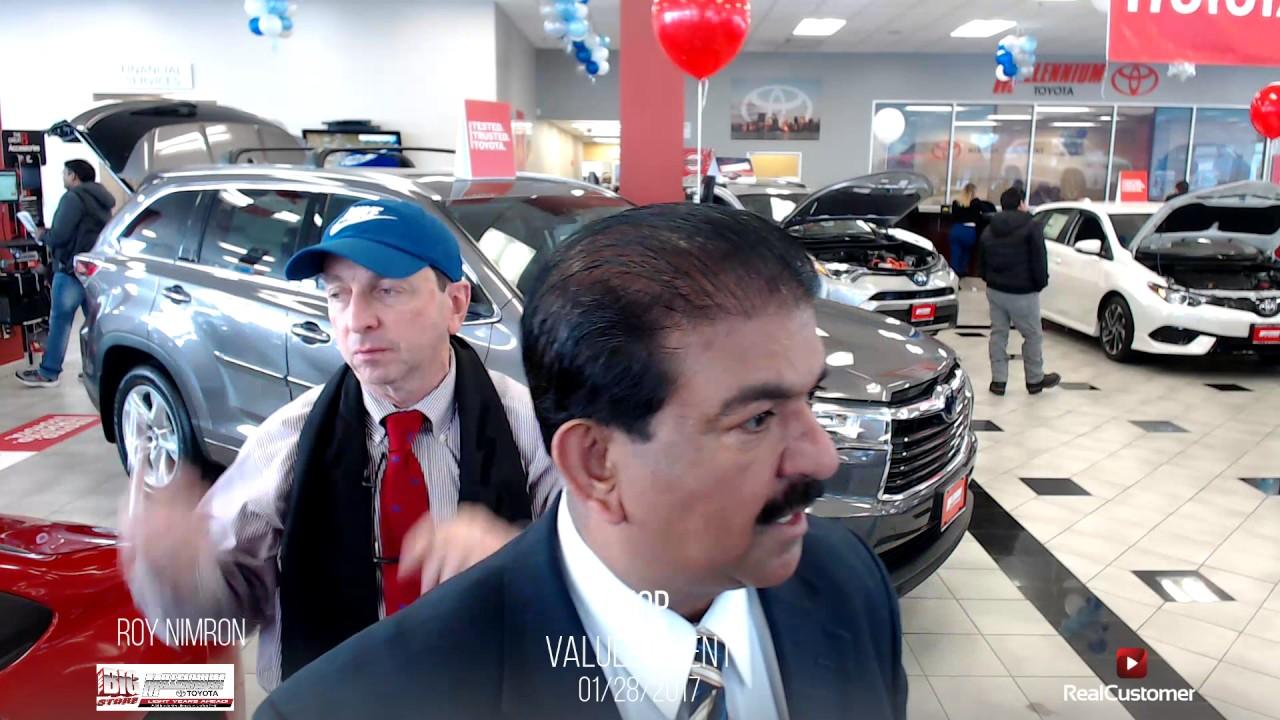 Chop Reviews Millennium Toyota And Sperson Roy Nimron