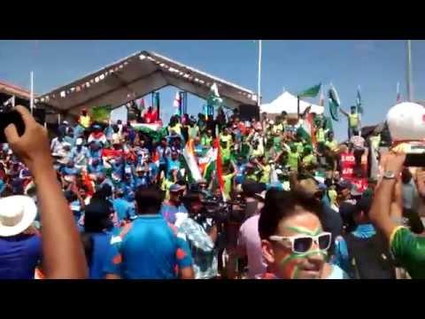 India vs Pakistan: Madness outside Adelaide Oval