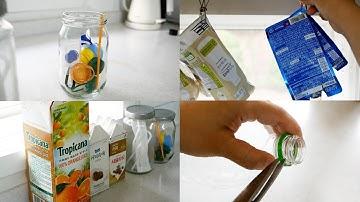 (SUB) 올바른 분리수거 5가지 방법 | 우유팩, 페트병, 유리병 재활용 분리배출 방법 | 생활 속 쉽게 실천하기