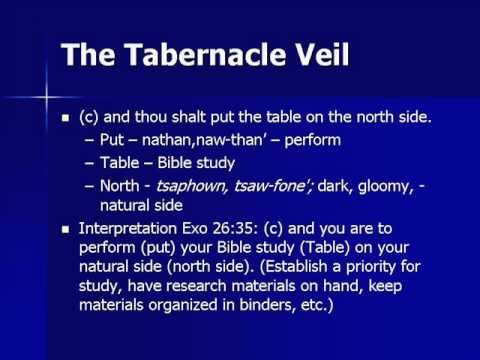 The Tabernacle Veil